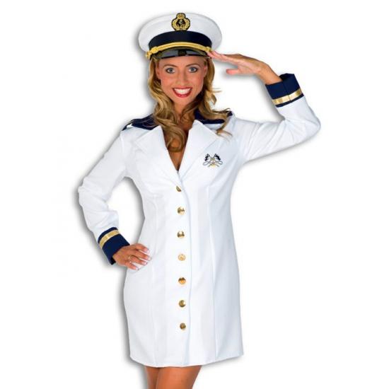 Carnavalskleding kapiteinspakje dames