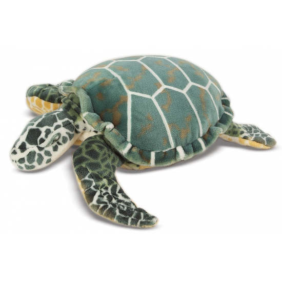 Grote schildpad knuffel 81 cm