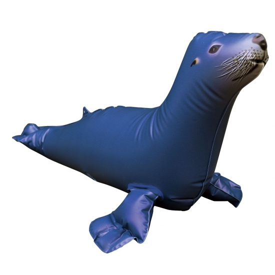 Opblaasbare blauwe zeeleeuw 51 cm