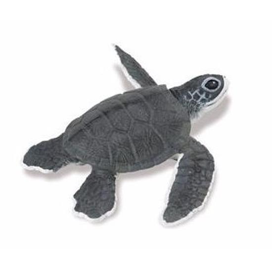 Plastic dieren schidpadje 14 cm