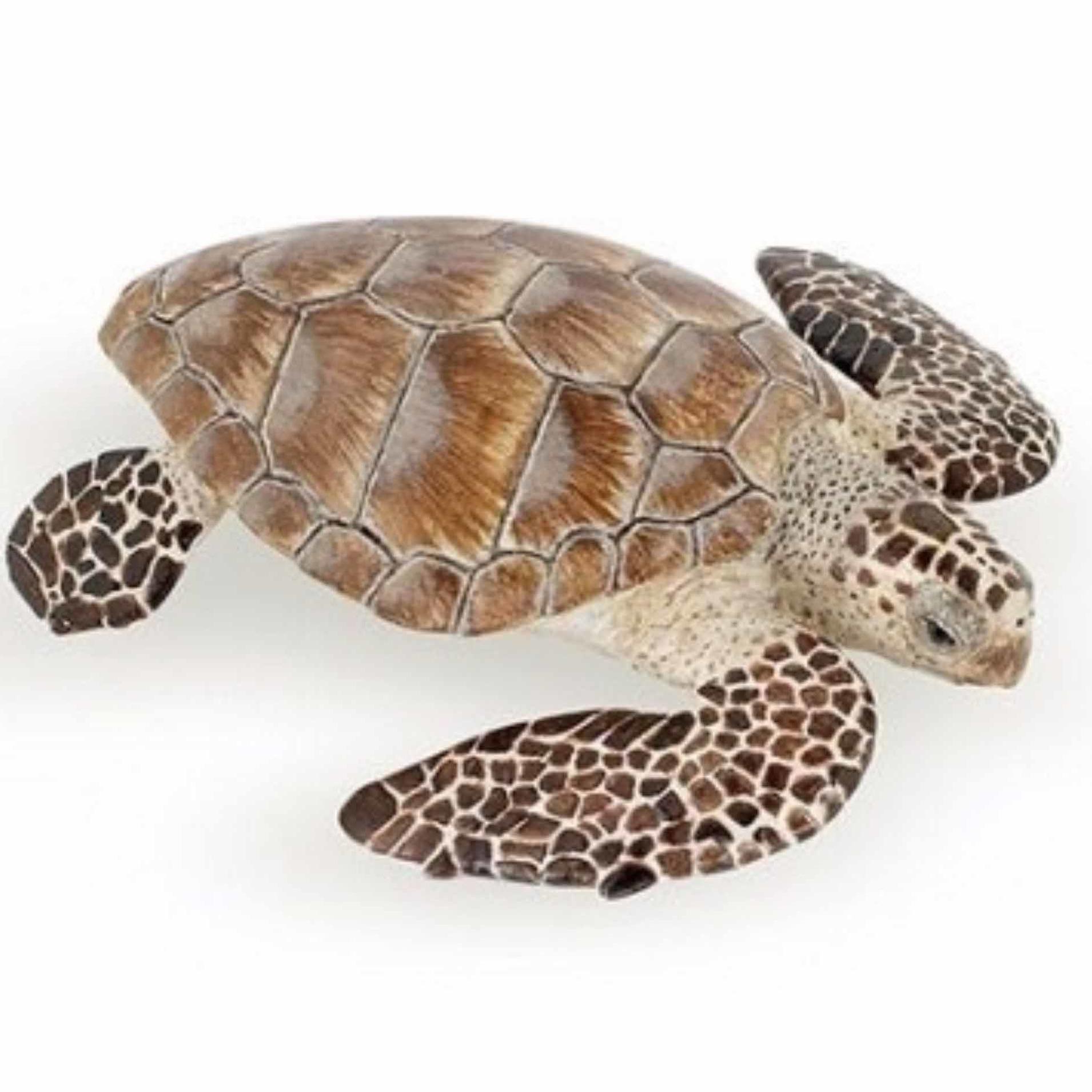 Plastic Papo dier karetschildpad 7,5 cm