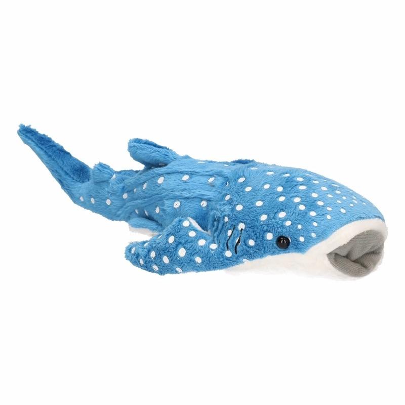 Pluche knuffel walvis haai 28 cm